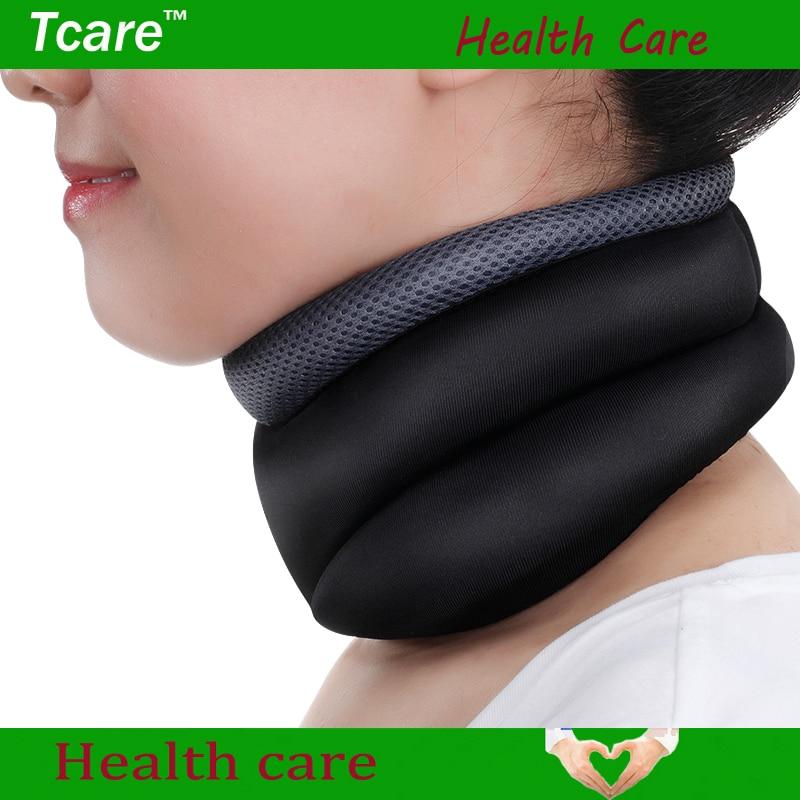 * Tcare Neck Cervical Traction Device Skyddar huvudet Back Shoulder - Sjukvård - Foto 4