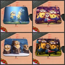 Animation cartoon despicable me workplace pc mouse pad pocket book cushion antiskid rectangular rubber recreation, like a present