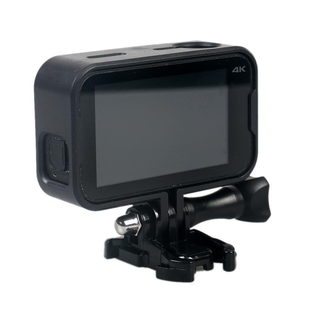 Image 4 - Защитный рамочный кронштейн Fo 4 K мини Экшн камера с креплением база длинный винт черный Быстрая доставка-in Чехлы для спортивных видеокамер from Бытовая электроника
