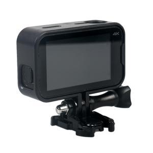 Image 4 - الإطار واقية جبل Fo 4 K البسيطة عمل كاميرا مع قاعدة تثبيت مفك طويل الأسود شحن سريع
