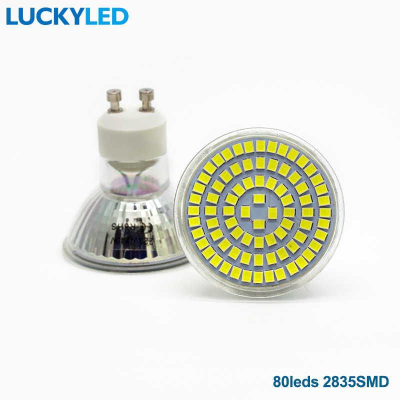 LUCKY LED marque Bombillas LED ampoule Spot 3W 4W 5W 6W SMD 2835/5730 GU10 LED Spot AC110V 220V pour la maison Lampada lampe