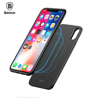 Baseus Newest Wireless Charger Power Bank Case For IPhone X Wireless Charging Battery Charger Case For