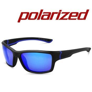 f76577530c Gafas de Sol deportivas de diseño de marca JULI para hombre polarizadas  Gafas de Sol para correr Gafas de Sol para exteriores deportivas con funda  MJ8014