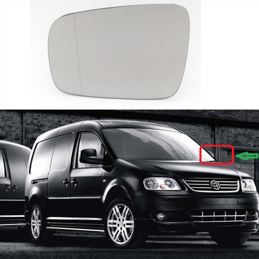 Side Mirror Cover Housing LEFT Fits VW Caddy III Multivan T5 Transporter 2003
