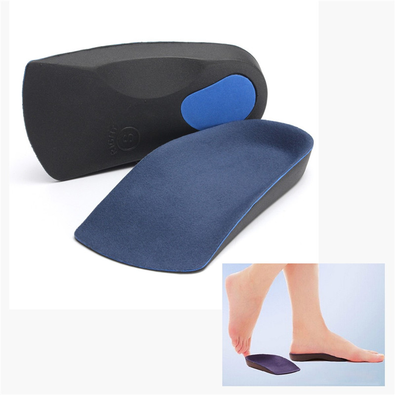 New Arrival 1 Pair Women Insoles For O Legs X Legs Straightening Correction Support Plantar Fasciitis Flat Foot PAD