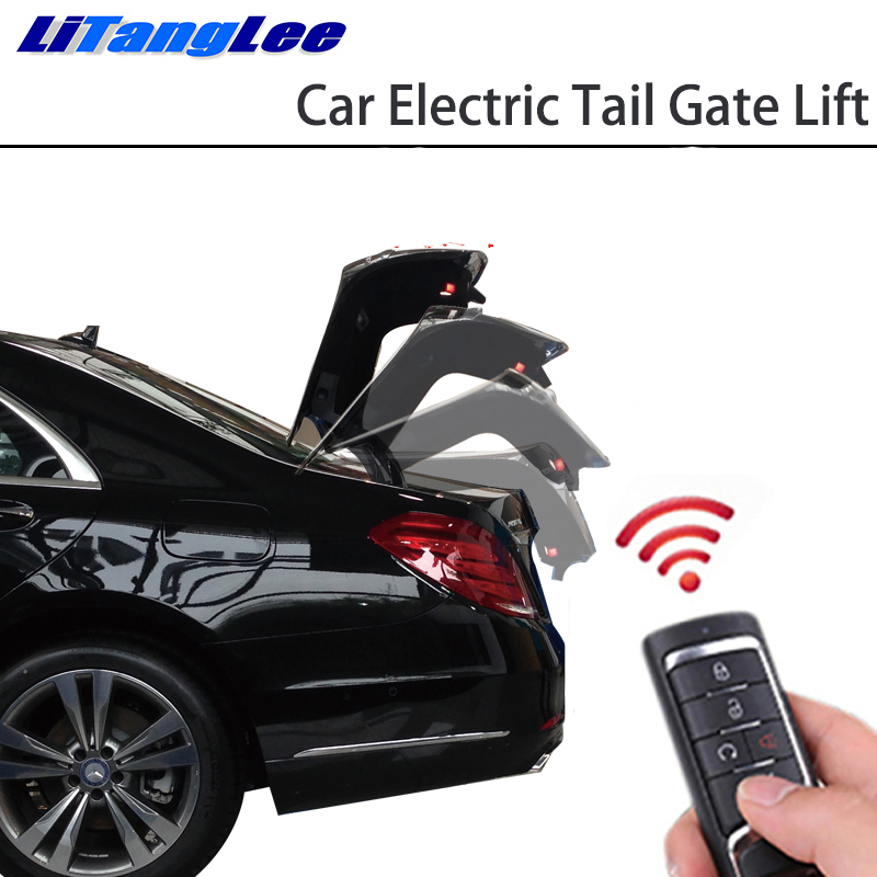 LiTangLee Car Electric Tail Gate Lift Tailgate Assist System For Audi A4 B9 8W 2016 2017 2018 2019 Remote Control Lid