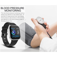 Smart Bracelet Fitness Activity Bracelet Watch Heart Rate Monitor Color Screen Basketball Soccer Multi Sport Mode OD889