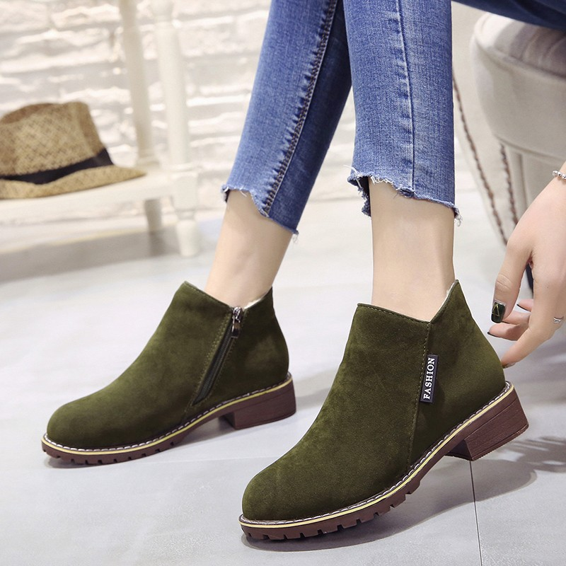2018 new Boots Woman Shoes Winter Female Warm Fur Water-resistant Upper Fashion Non-slip Sole Free Shipping New Style Snow Boot (10)