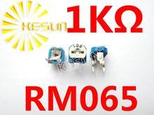 Обрезка Потенциометр Разъем RM065 RM-065 лучших регулировка 1 K Переменные Резисторы x500PCS