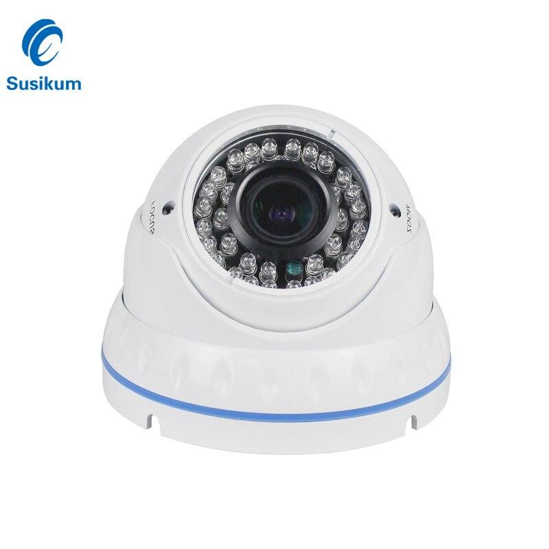 5MP 4X Zoom manuel dôme caméra intérieure 2.8-12mm lentille SONY326 CMOS capteur HD 5 mégapixels sécurité à domicile AHD caméra avec Menu OSD
