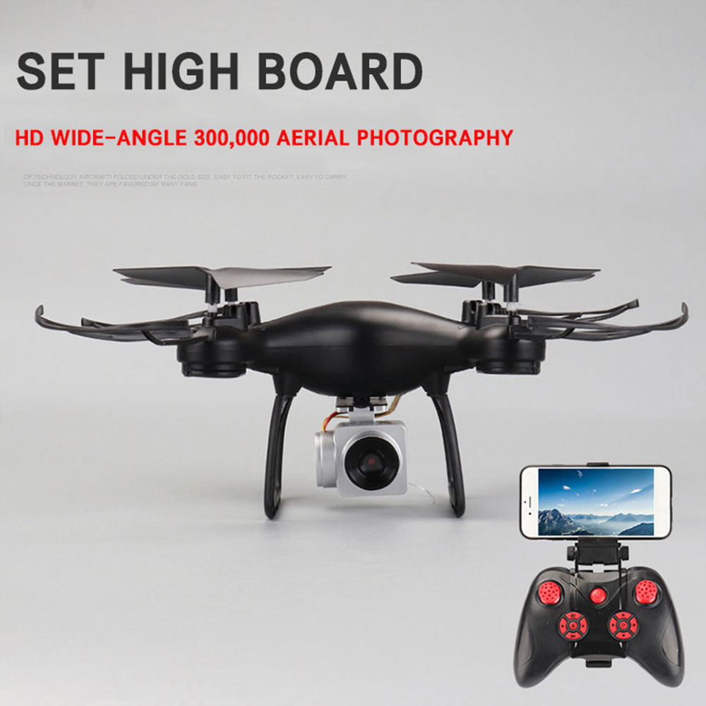 Lensoul 2.4 ГГц 4 канала WI-FI Drone 0.3mp HD камера 6 оси гироскопа самолета БПЛА Drone headless режим App управление Quadcopter самолета