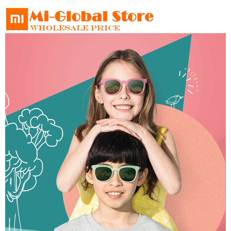 New XiaoMi mijia TS Childrens sunglasses TAC polarized lenses UV blocking only 15g Comfortable to wear protecting eyes for kids-in Bags from Consumer Electronics on Aliexpresscom  Alibaba Group