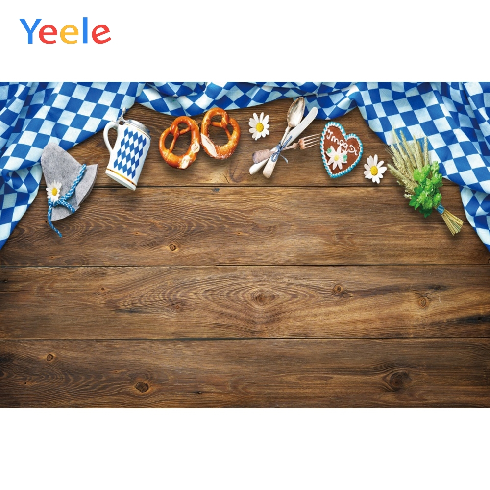 Yeele Oktoberfest Family Friend Foods Carnival Beer Photography Backdrop Personalized Photographic Backgrounds For Photo Studio