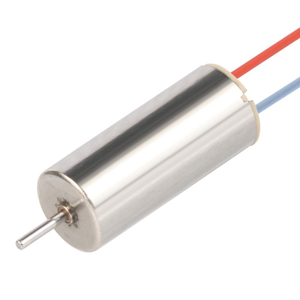 1 S 3.7 V 8520 8.5x20mm mini sans noyau Moteur CW pour bricolage Tiny QX90 QX95 LT105 FPV