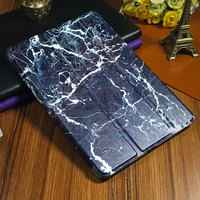 Top Smart Stand Flip PU Leather Tablets Case For Ipad Pro 10 5 Painted Covers For