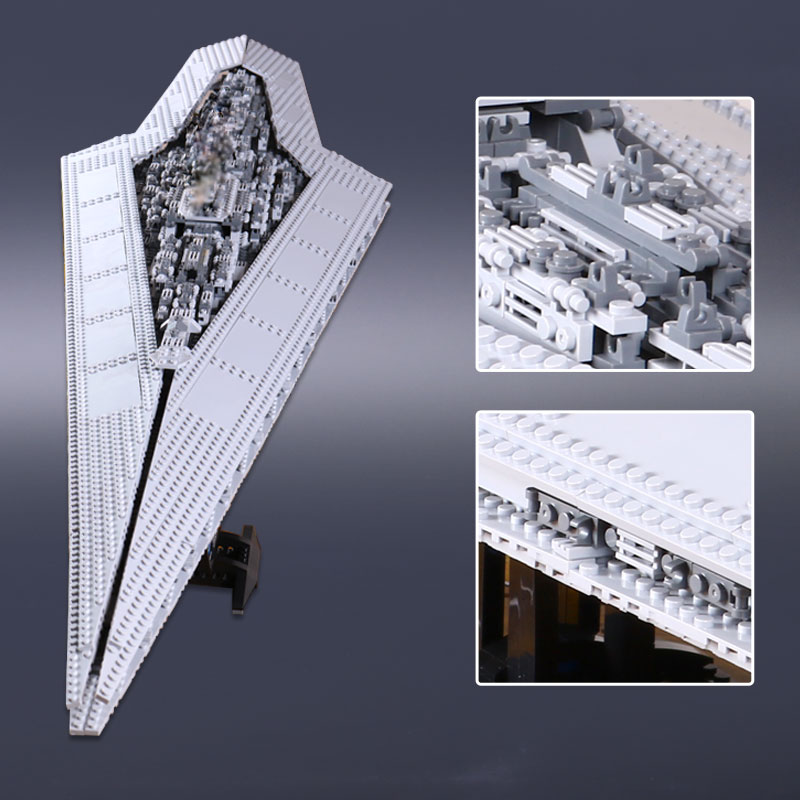 05028 LEPIN Building Blocks Bricks Star Wars Execytor Super Star Destroyer Model Toy For Boy Compatible 10221 Educational Gifts lepin 05028 3208pcs star wars building blocks imperial star destroyer model action bricks toys compatible legoed 75055