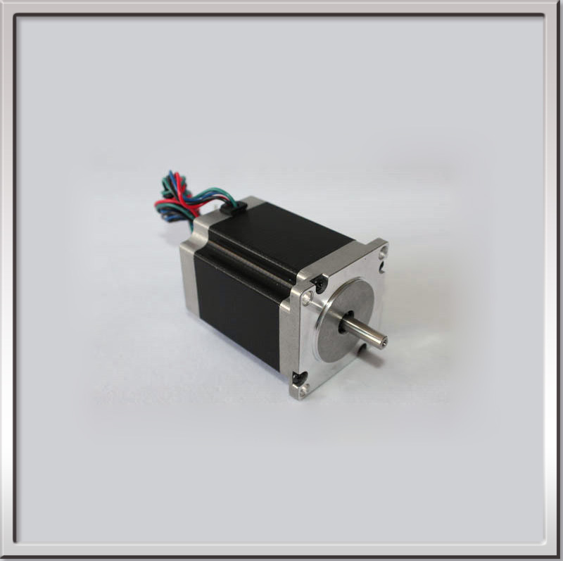 high precision 57HS82-3004 1.8o 24V 57mm 3A 4wires 2.2N.m NEMA23 57BYGH 2 phase Big Square Hybrid Stepper Motor Free shipping toothed belt drive motorized stepper motor precision guide rail manufacturer guideway