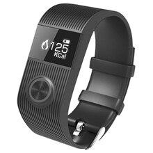 SX101 умный браслет bluetooth монитор сердечного ритма трекер часы будильник Smart Браслет для андроид iOS Band Черный