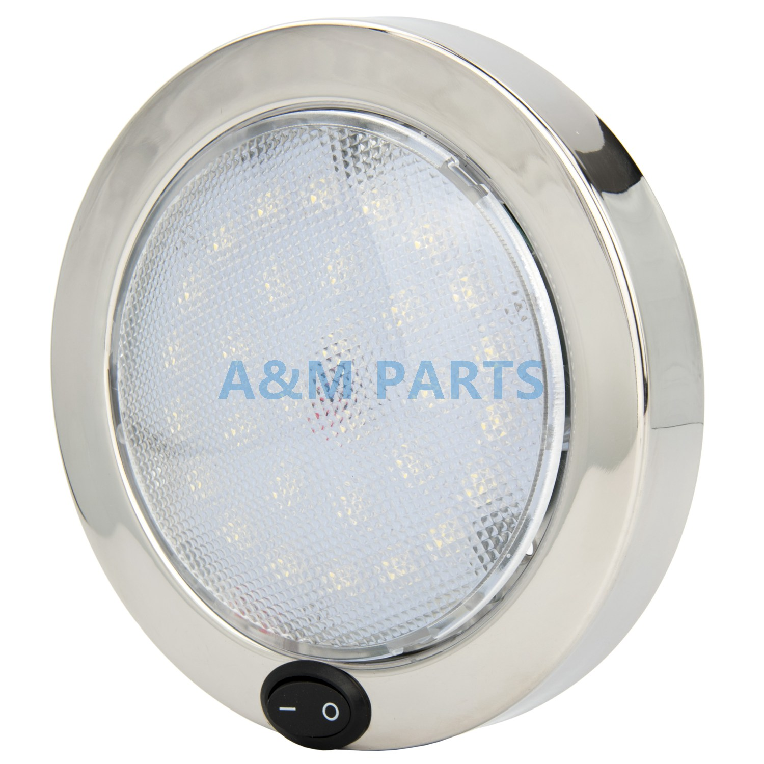 Us 33 36 24 Off Boat Caravan Rv Cabin Dome Light 12v P4 Led Marine Interior Stainless Steel Housing 140mm In Decorative Lamp From Automobiles