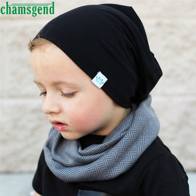 CHAMSGEND Drop ship Toddler Kids Baby Boy Girl Infant Cotton Soft Warm Hat Cap Beanie S25x unisex brown cotton hat for new born kid child baby boy girl soft toddler cap page 8