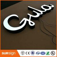 High Polymer Resin Made Led Lighted Letter Sign