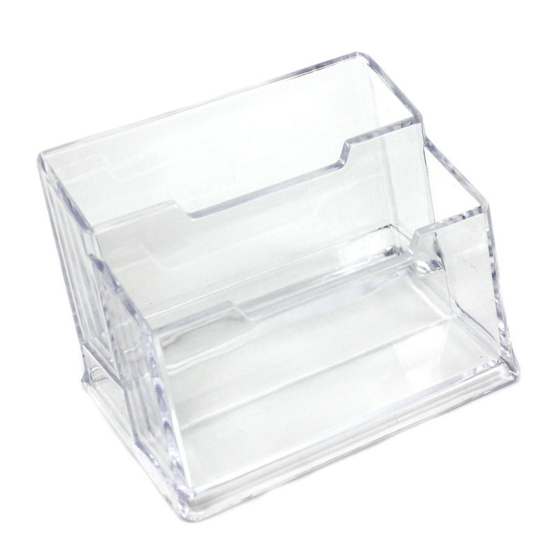 Aliexpress.com : Buy 1x Office Transparent Acrylic Table Desk Business Card Holder Stand Display Case from Reliable acrylic holder suppliers on ...