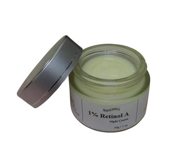 New 1 % Retinol Vitamin A Face Night Cream Retin Anti Aging Wrinkles Acne Removal Free Shipping