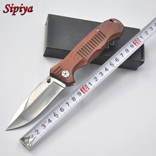 Top quality !Military knife Folding Knife Tactical titanium Camping Hunting Survival Knife Outdoor Rescue EDC Knives Multi Tools