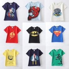 Baby Boy Tops Boys Spiter man T Shirts 2019 Summer Kids Streetwear Pattern Girl Baby T-shirt Toddler Girl Tops Short Sleeve все цены