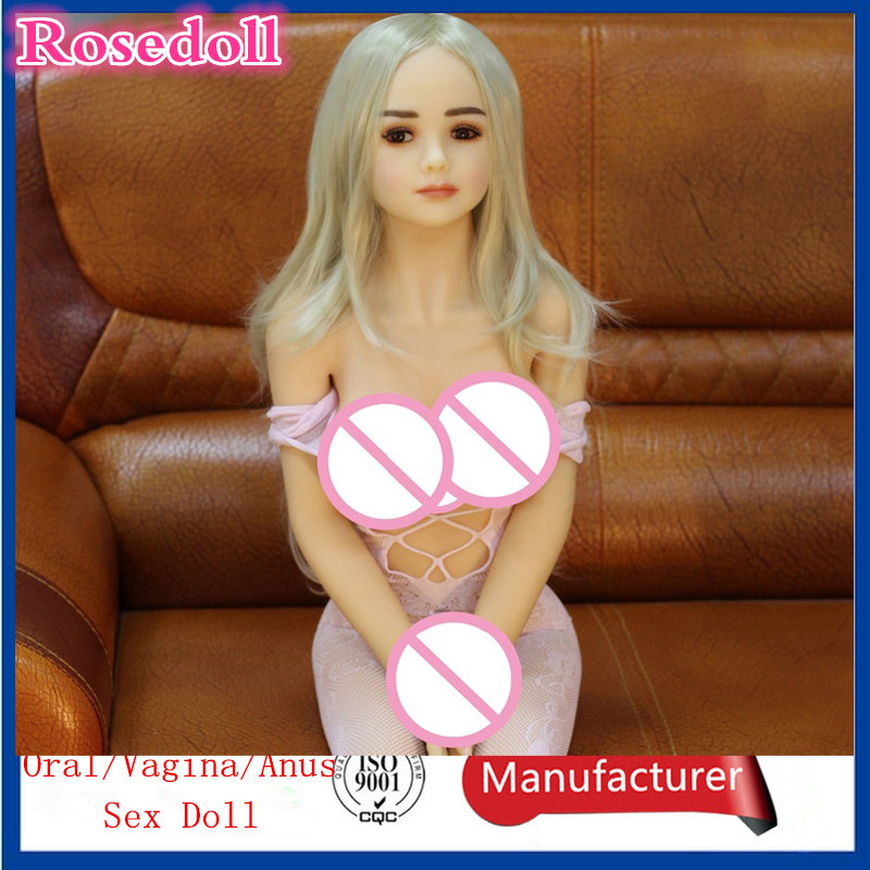 Buy 125cm sex doll Metal skeleton real adult dolls,Realistic silicone mannequins life size male sex doll vagina anal love doll.