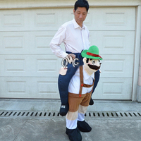 Costume Cosplay Fantasy Inflatable Mascot Suit Shoulder Ride On Mascot Halloween Costume For Women Men