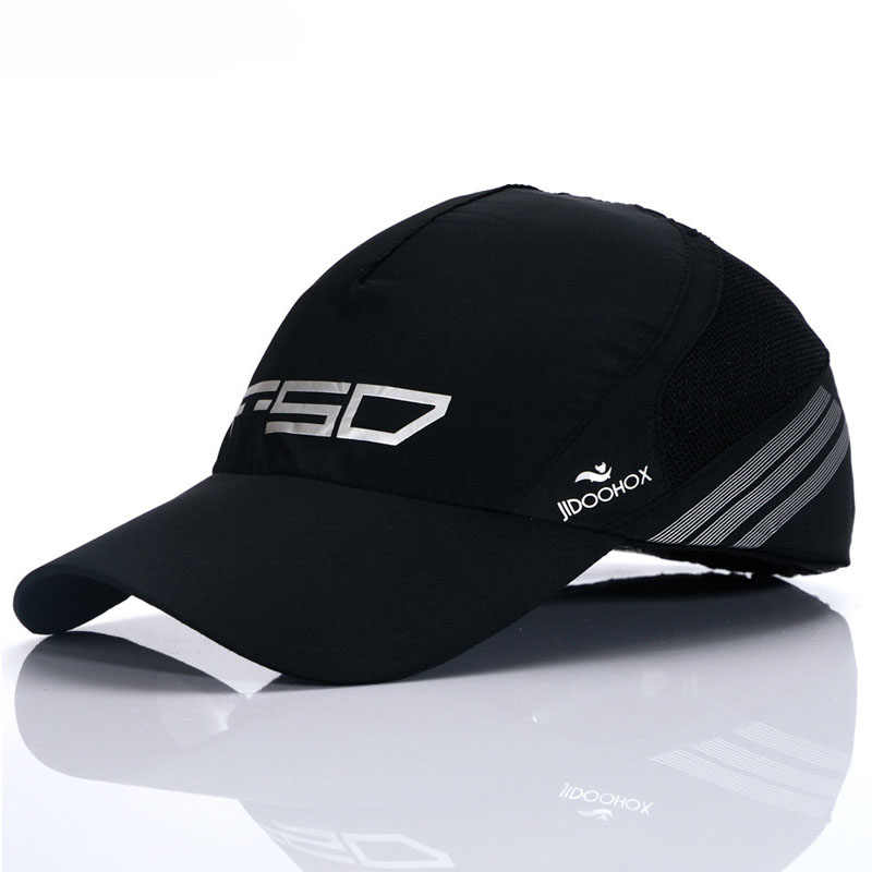 Летние дышащие сетчатые бейсбольные кепки, тонкие мерсеризованные хлопковые влагоотводящие кепки, крутые мужские бейсбольные кепки, Брендовые повседневные женские облегающие кепки