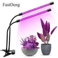 Timer Dimmable Grow Led 20W 110V 220V Usb Charging Led Grow Light Full Spectrum Tube Aquarium Led Lamp For Plants With Clip