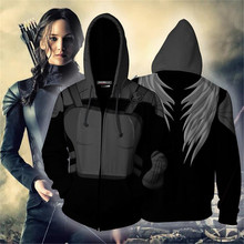The Hunger Games Cosplay Katniss Everdeen Costume Movie Hoodie Sweatshirts Men Women Jackets 2019 New