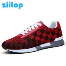 Ziitop 2017 Summer Autumn Men Running Shoes Men Flat Trainer Breathable Fly Weave Outdoor Sneakers Zapatillas Deportivas Hombre