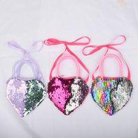 Women Coin Purse Mini Cute Heart Girls Purse Zipper Small Handbag Coin Bag