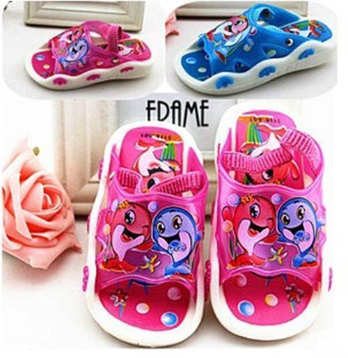 2016 verão novas Crianças Crianças Meninos e Meninas chinelos sandálias chamado convenientes e confortáveis não-deslizamento sapatos F155