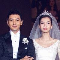 Baby With Money Noble Temperament Bride Crown Headdress Korean Wedding Accessories 0670