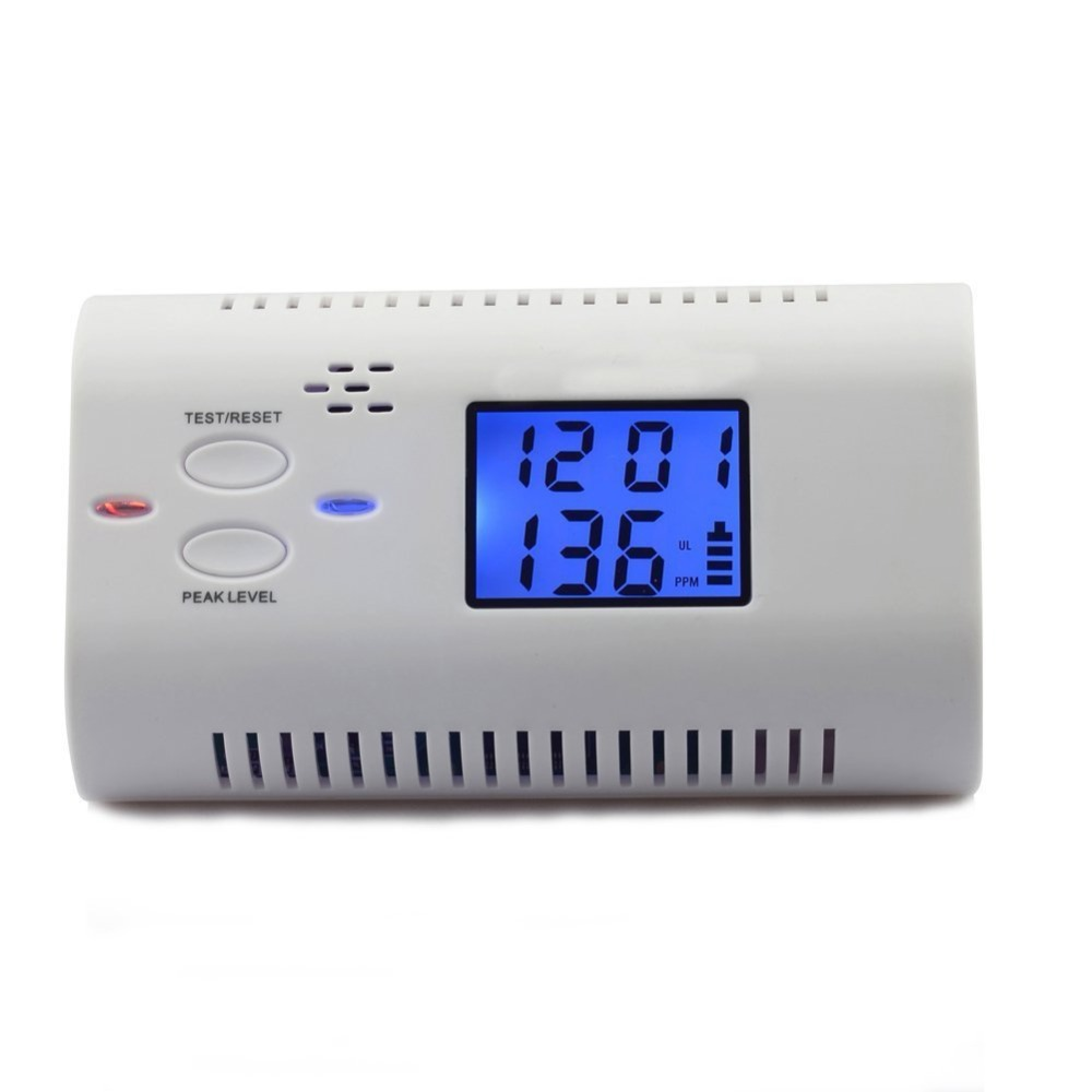 ELE ELEOPTION Co detector CO warning detector CO detector carbon monoxide detector with LED display