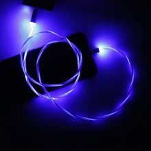 L-Line 90 degree LED Glowing Flow Magnetic USB C Cable Magnet Type C Cord for Samsung S9 S8 Note 9 Xiaomi 6/8/9 Huawei цена 2017