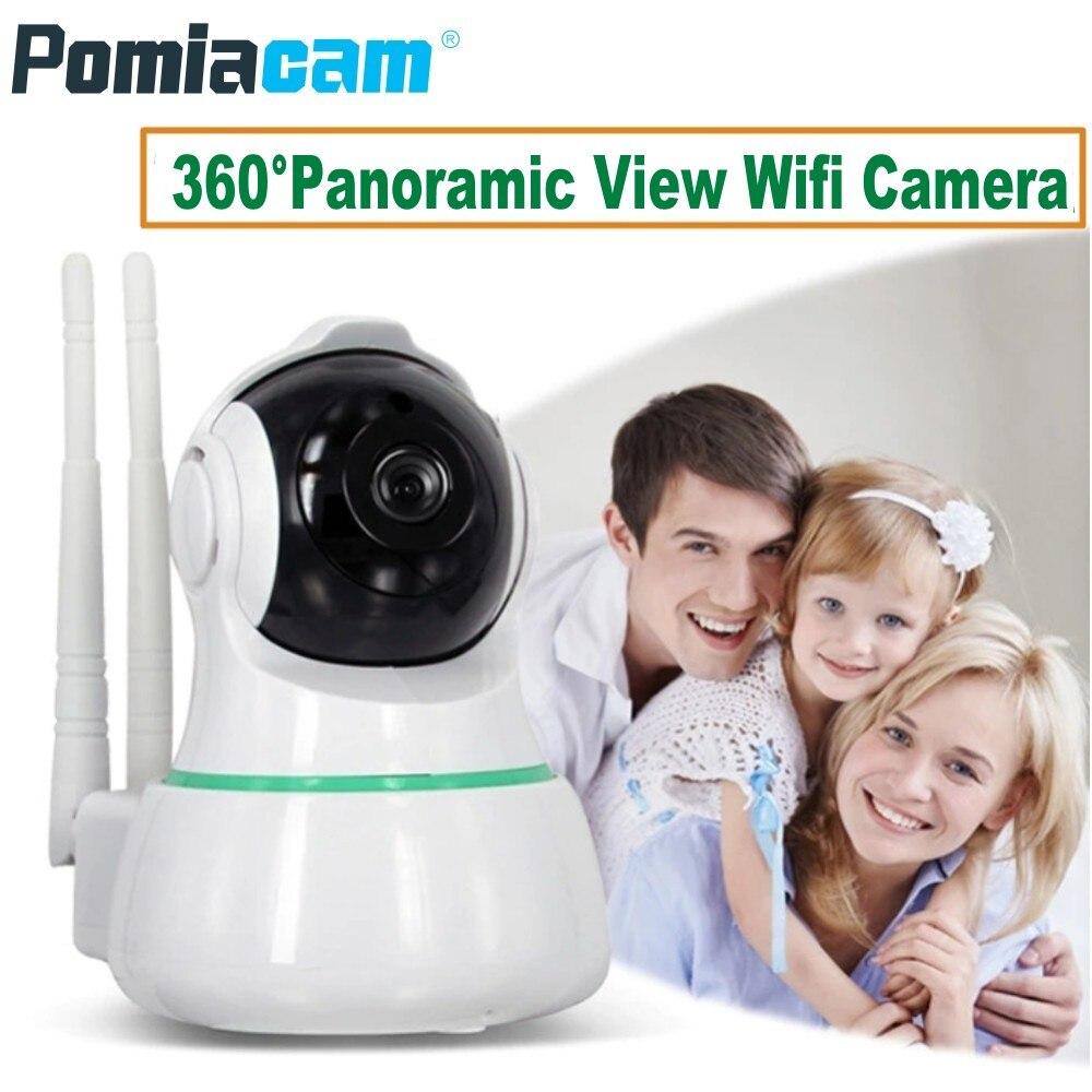 2018 New 1080P Wireless Wifi IP Camera EC31 360 Degree Panoramic View Home Security Surveillance Camera 2 Way Audio Baby Monitor