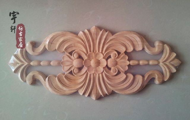 ᗖwood dongyang wood carving square column roman column corner
