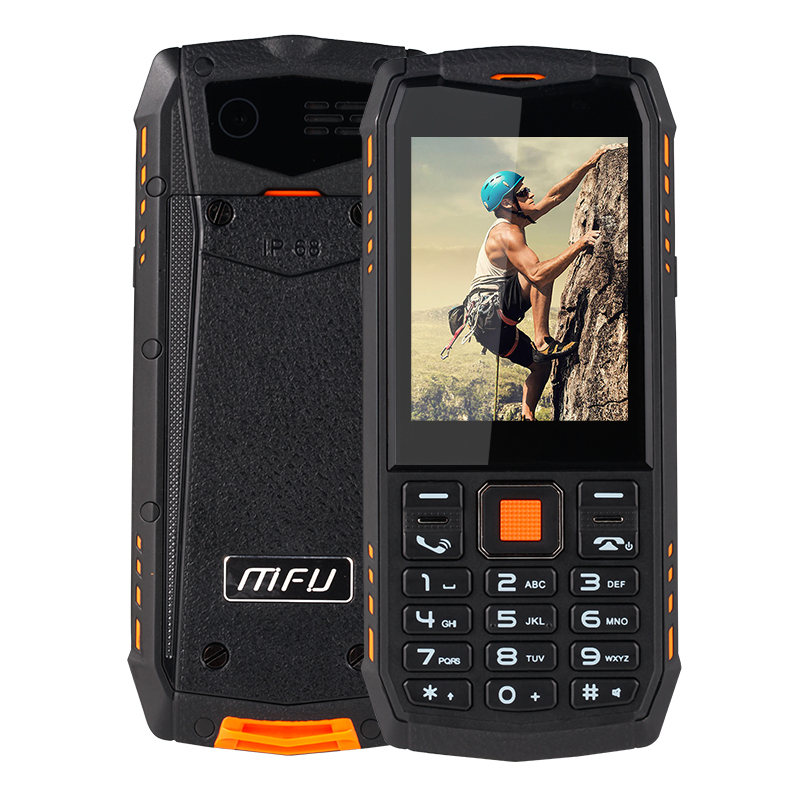 "MFU A903S 3G WCDMA mobile phones IP68 Waterproof Dustproof 2.8"" 2700mAh Torch FM bluetooth Dual Camera Dual SIM Card cell Phones(Hong Kong,China)"