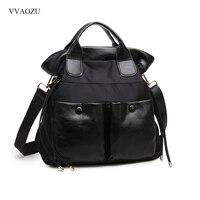 Women Handbag 2016 New Arrival Nylon And Leather Large Capacity Shoulder Crossbody Bags Tote Bolsas Feminina