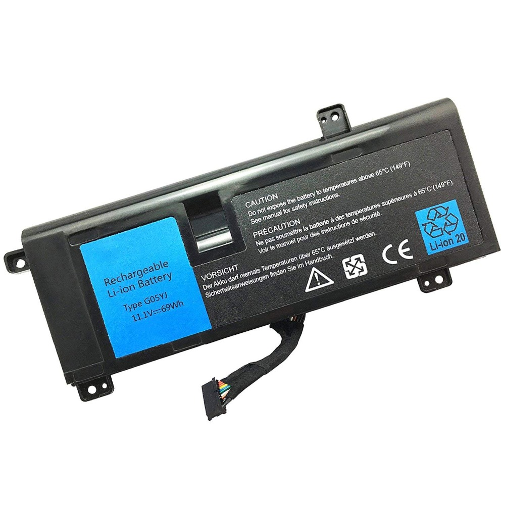 Constructive New G05yj Laptop Battery For Dell Alienware M14x R4 A14 14d 14d-1528 Alienware G05yj 0g05yj Y3pn0 8x70 Packing Of Nominated Brand