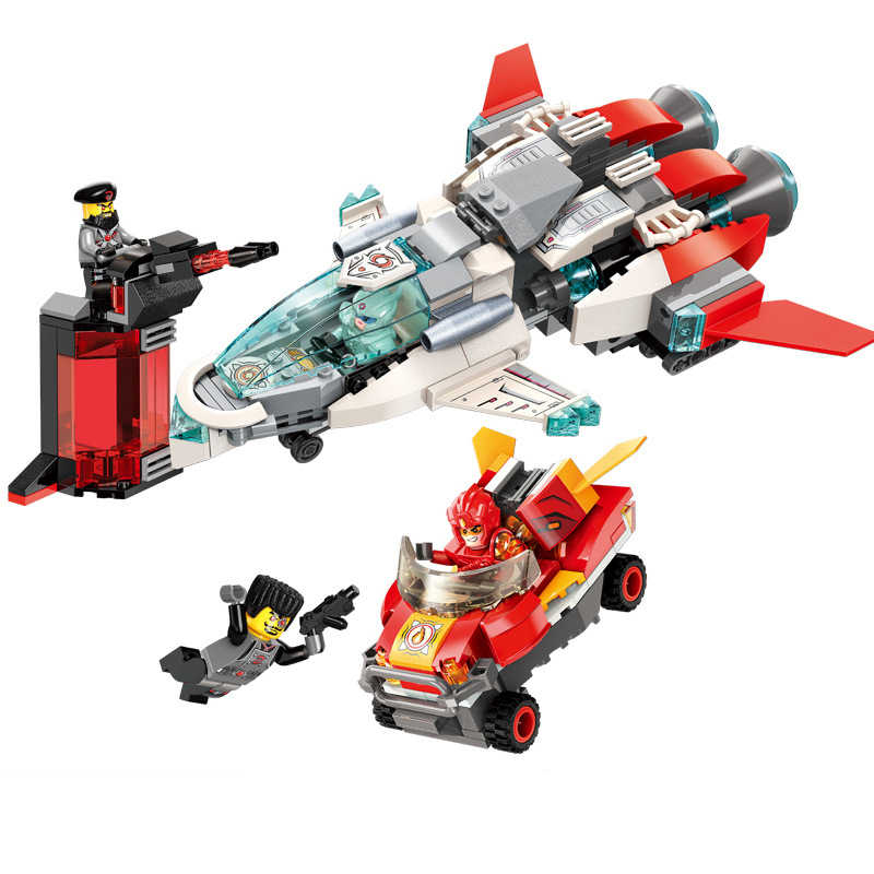 356pc Children's building blocks toy Compatible Legoings city Blast jet fighter figures Bricks birthday gifts