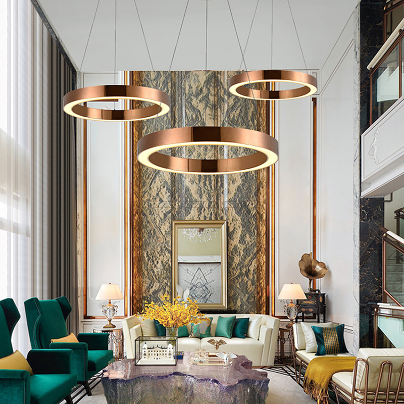 Ceiling Lights & Fans Orderly Round Acrylic Modern Led Ceiling Light For Living Room Bedroom Dining Table Office Meeting Room Black/white Ceiling Lamp