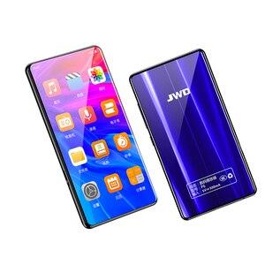 Image 2 - JWD ses çalar bluetooth mp3 5.0 inç dokunmatik ekran dahili hoparlör ile FM radyo/kayıt taşınabilir ince kayıpsız Video