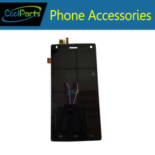 1 PC/Lot de Alta Calidad de Color blanco y Negro Para Fly FS452 Pantalla LCD Con Pantalla Táctil Digitalizador Asamblea Envío Libre gratis