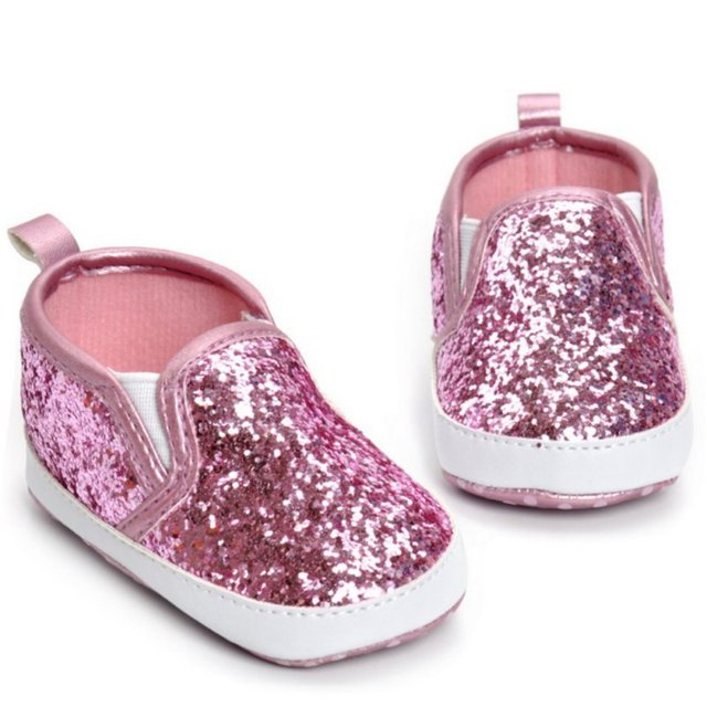 4ae1b127ca456 2017 silver spring bling pu leather baby moccasins shoes soft sole baby  girls boys red shoes first walkers-in First Walkers from Mother & Kids on  ...